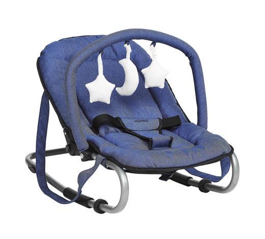 HOUPAČKA - modrá/barvy stříbra, Konvenční, kov/textil (67/49/52cm) - My Baby Lou