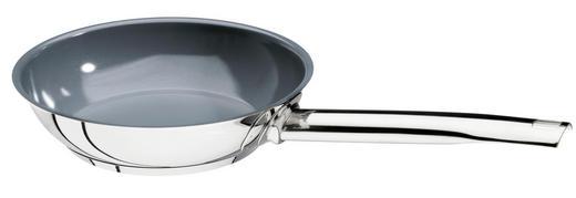 BRATPFANNE 20 cm Keramikbeschichtung - Edelstahlfarben, Basics, Metall (20cm) - SCHULTE UFER