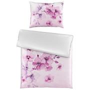 BETTWÄSCHE 140/200 cm - Lila/Weiß, Trend, Textil (140/200cm) - ESPOSA