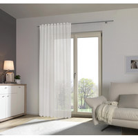 Fertigvorhang halbtransparent  - Naturfarben, Konventionell, Textil (140/245cm) - Esposa