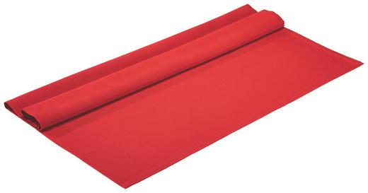 TISCHDECKE Textil Rot 100/100 cm - Rot, Basics, Textil (100/100cm)