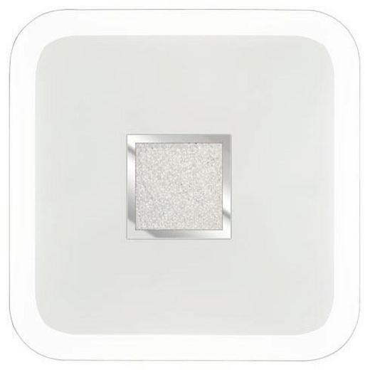DECKENLEUCHTE - Klar, Design, Kunststoff/Metall (60 60 10cm) - Novel