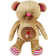 PLÜSCHTIER LIEF BETSY THE BEAR - Multicolor/Braun, Textil (25/66/22cm)