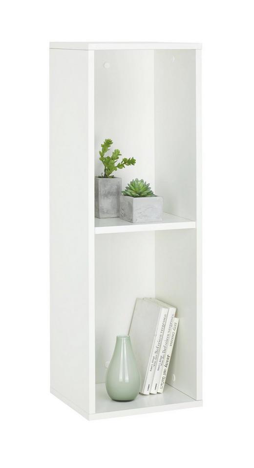 REGAL in Weiß - Weiß, Design, Holzwerkstoff (30 90 26cm)