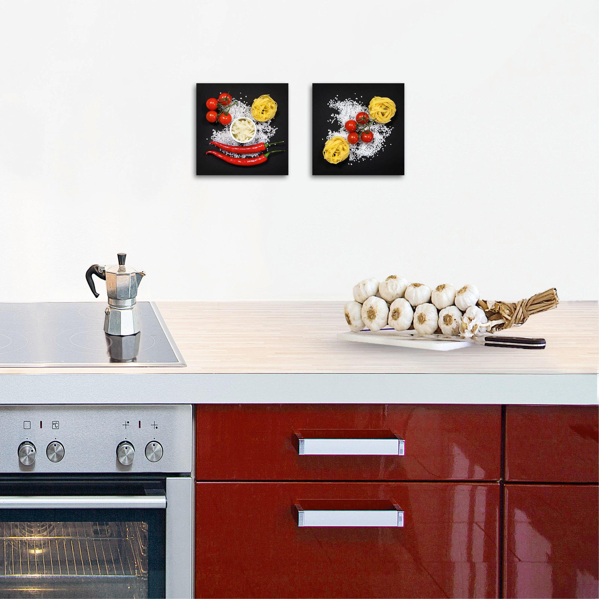 GLASBILD - Multicolor, Basics, Glas (40/20/1,7cm) - EUROGRAPHICS