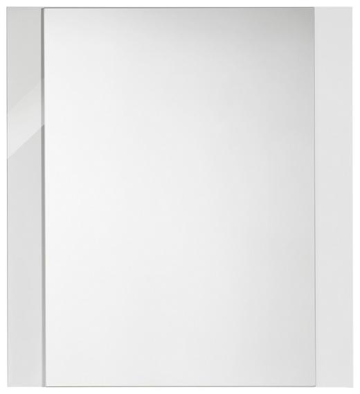 OGLEDALO - bijela, Design, drvni materijal (64/70cm) - XORA