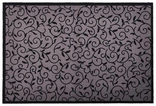 FUßMATTE 60/40 cm - Grau, Design, Kunststoff/Textil (60/40cm) - Esposa