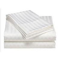 PREVLEKA ZA PREŠITO ODEJO saten bela 140/200 cm  - bela, Konvencionalno, tekstil (140/200cm)