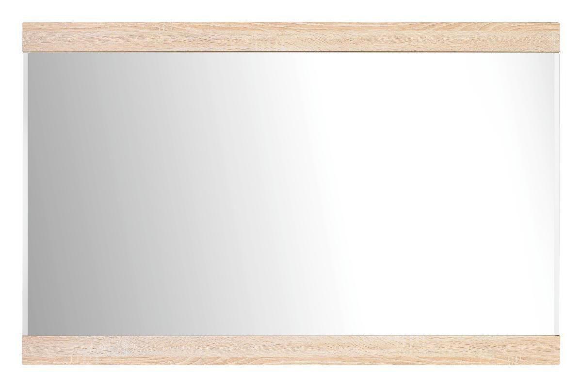 SPIEGEL Eichefarben - Eichefarben, Design, Glas/Holzwerkstoff (110/70/3cm) - BOXXX