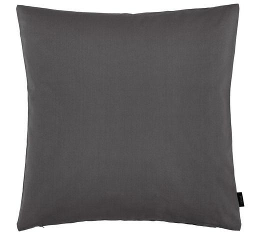 KISSENHÜLLE - Grau, Basics, Textil (60/60cm) - Novel