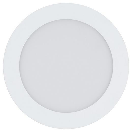 EINBAULEUCHTE FUEVA-CONNECT - Weiß, KONVENTIONELL, Kunststoff/Metall (17cm)