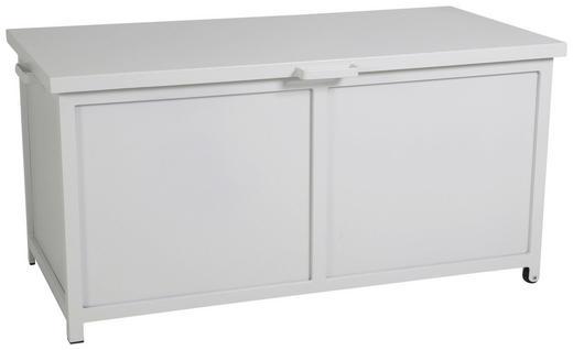 KISSENBOX - Weiß, Design, Metall (148/74/73cm)