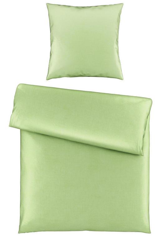 BETTWÄSCHE Satin Pastellgrün 135/200 cm - Pastellgrün, Basics, Textil (135/200cm) - Novel