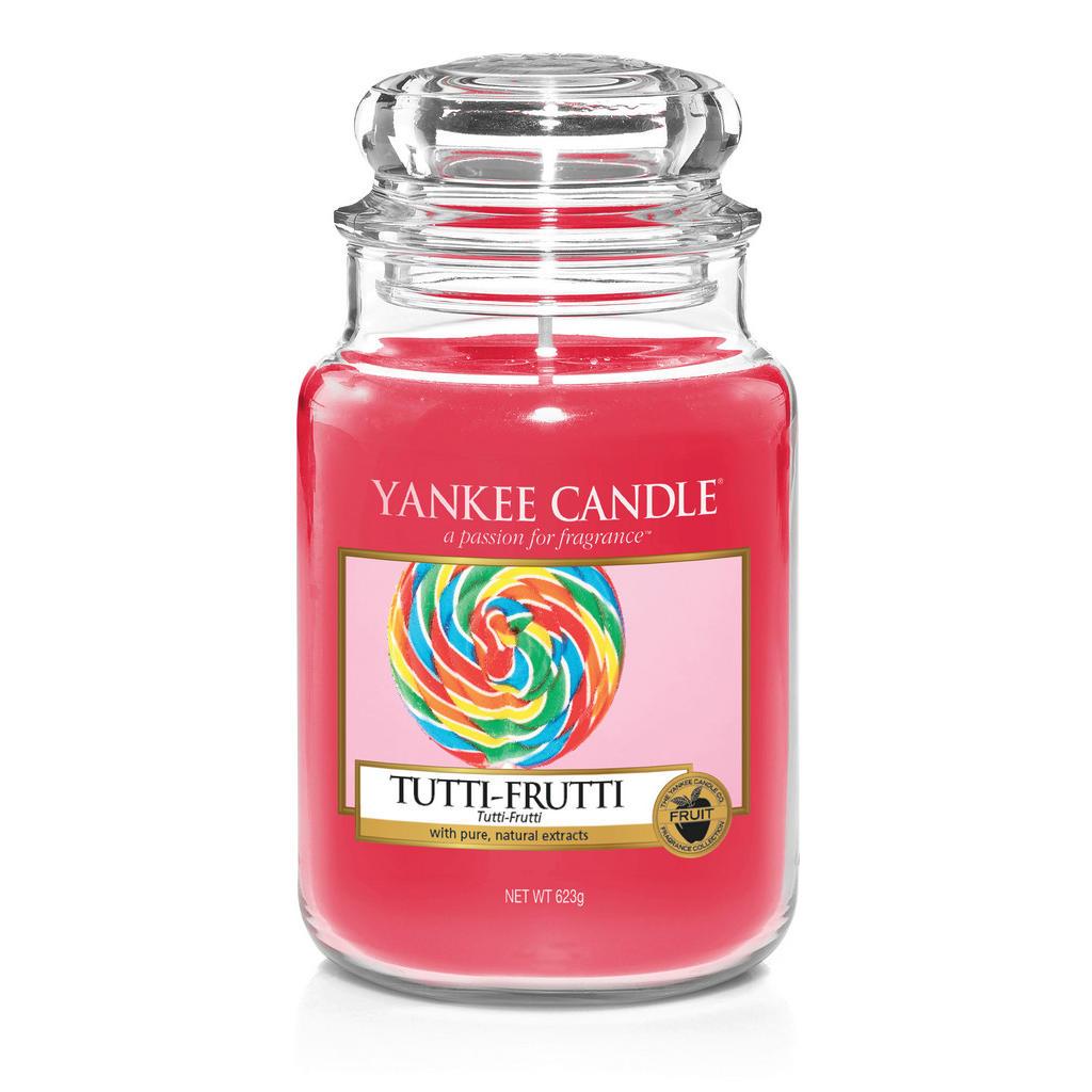 Yankee Candle Duftkerze yankee candle tutti frutti