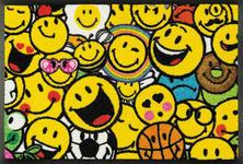 FUßMATTE 40/60 cm Graphik Gelb, Multicolor - Gelb/Multicolor, Basics, Kunststoff/Textil (40/60cm) - Esposa