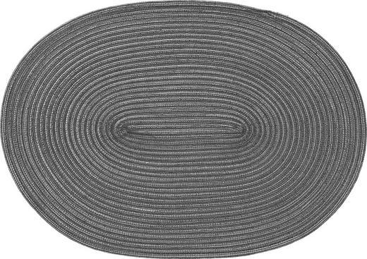 TISCHSET - Graphitfarben, Basics, Textil (48/33cm)