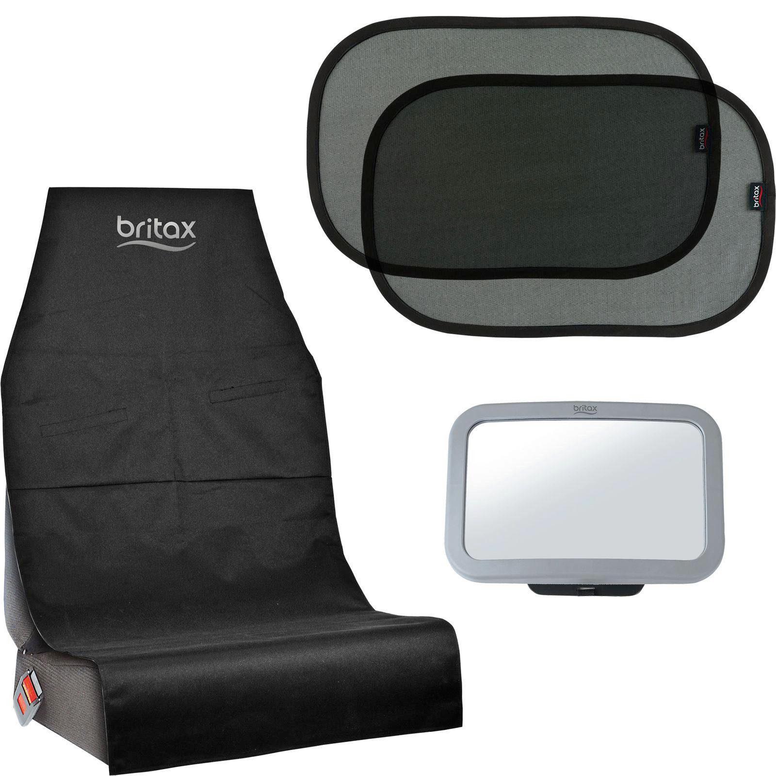 BRITAX 3-SET TILLBEHÖR BILSTOL - svart/transparent, Basics, metall/plast (1.5kg) - Römer