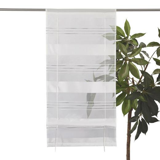RAFFROLLO  halbtransparent   60/130 cm - Weiß, Basics, Textil (60/130cm) - Esposa