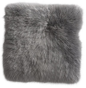 SITTDYNA - silver, Klassisk, textil/päls (34/34cm) - Esposa