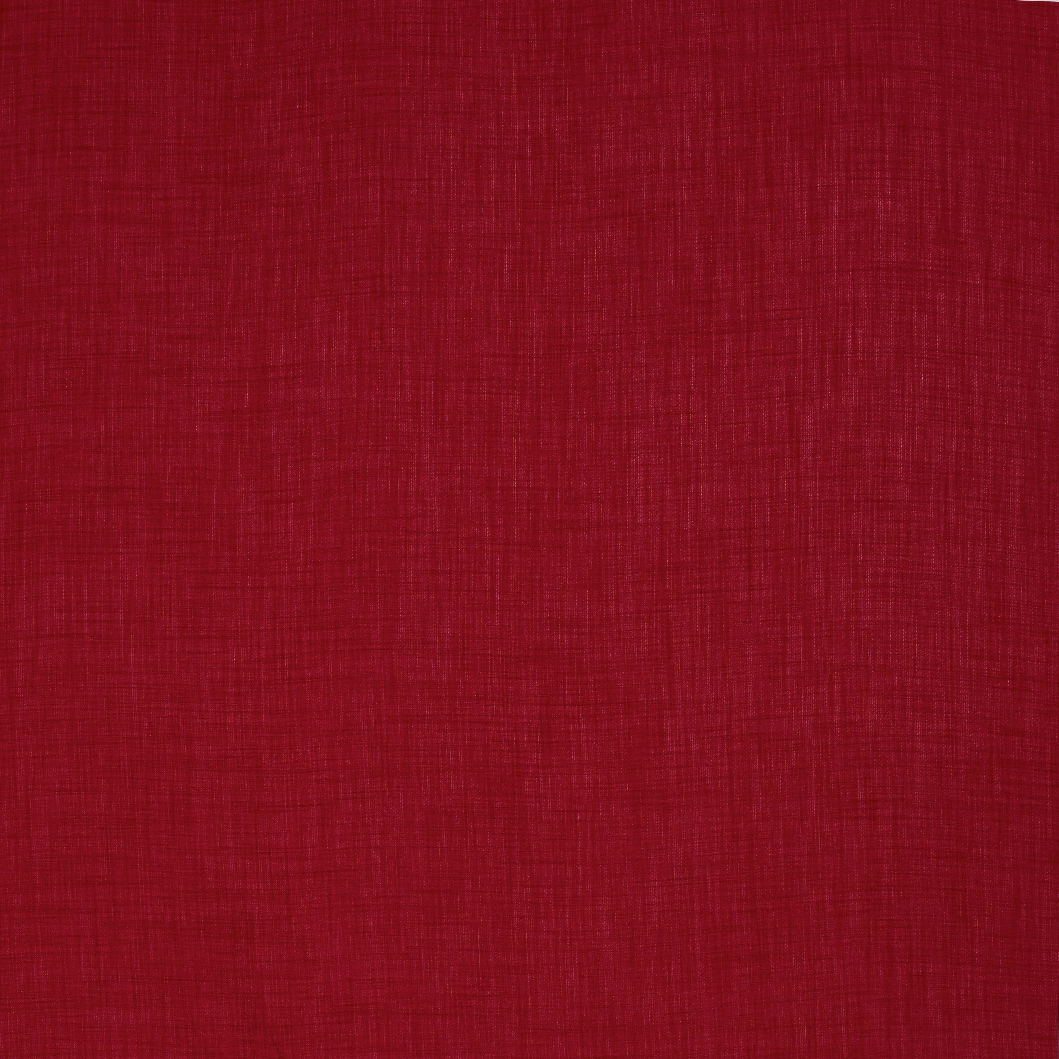 DEKOSTOFF per lfm Verdunkelung - Rot, KONVENTIONELL, Textil (152cm) - ESPOSA