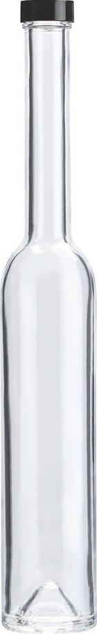 SAFTFLASCHE - Klar, Basics, Glas (0,35l) - HOMEWARE
