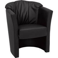 KŘESLO - šedá/černá, Konvenční, textil/umělá hmota (71/82/66cm) - Venda
