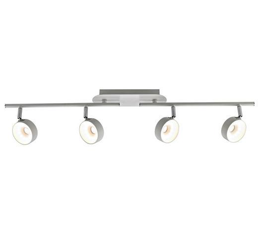 LED-STRAHLER   - Weiß, KONVENTIONELL, Metall (81,5/8/19cm) - Novel