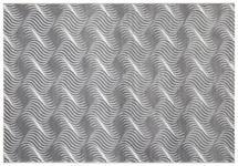 Webteppich Hellgrau Tyene 120x170 cm - Hellgrau, MODERN, Textil (120/170cm) - Ombra