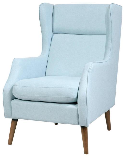 FOTELJA - svijetlo plava, Design, drvo/tekstil (68/92/104cm) - Carryhome