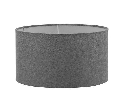 STÍNÍTKO SVÍTIDLA - šedá, Lifestyle, textilie (40/22cm)