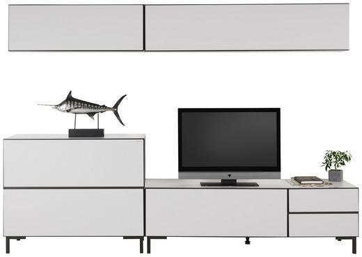 WOHNWAND Anthrazit, Weiß - Anthrazit/Weiß, Design, Metall (272/190/50cm) - Carryhome