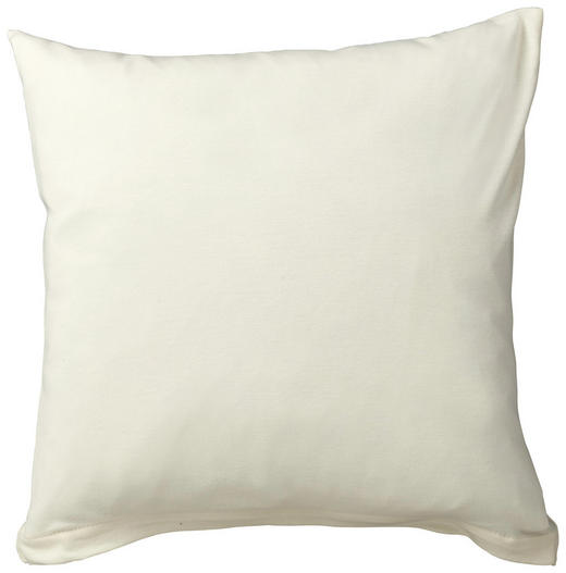 KISSENHÜLLE Creme 40/40 cm - Creme, Basics, Textil (40/40cm) - SCHLAFGUT
