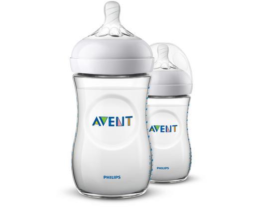 FLÄSCHCHENSET - Transparent, Basics, Kunststoff (//null) - Avent