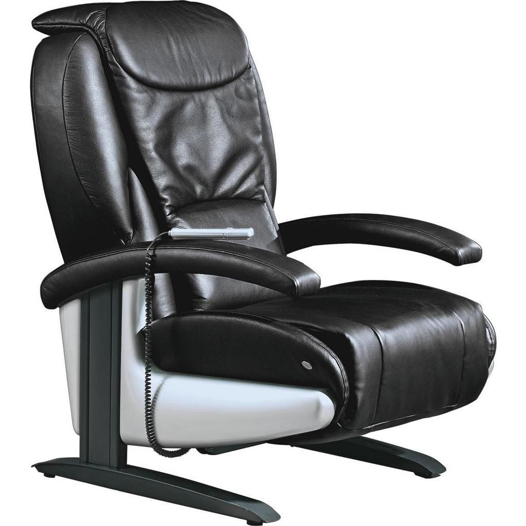 Himolla MASSAGESESSEL Echtleder Schwarz | Wohnzimmer > Sessel > Massagesessel | Leder | Himolla