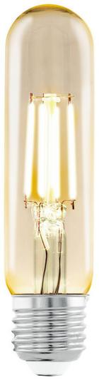 LED ŽÁROVKA - čiré, Basics, kov (10,5cm)