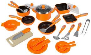 LEKKÖK - orange/grön, Basics, plast (36/25,5/8,3cm)