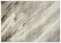 Webteppich Beige - Beige/Grau, Basics, Textil (120/170cm) - Ombra