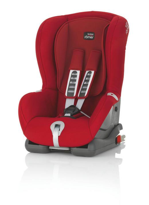 Kinderautositz Duo Plus - Anthrazit/Rot, Basics, Kunststoff/Textil (45/64/46cm) - Römer