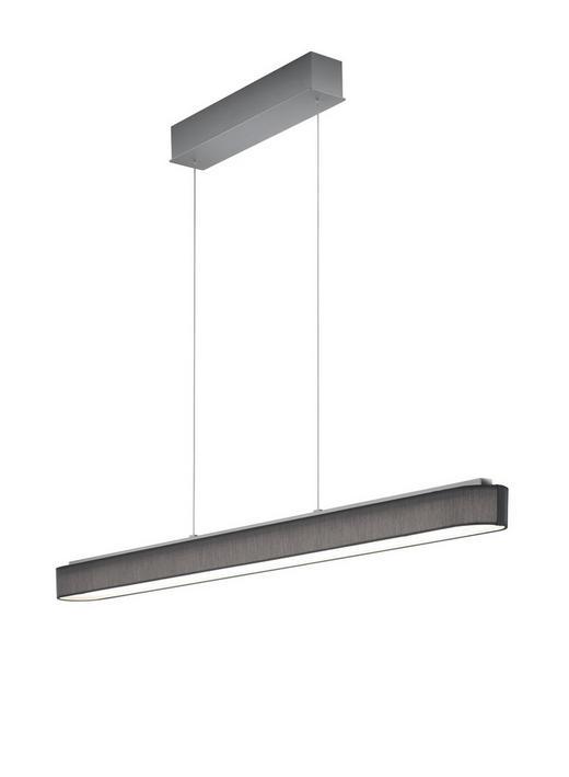 LED-HÄNGELEUCHTE - Anthrazit/Nickelfarben, Design, Metall (120/9/50-170cm)