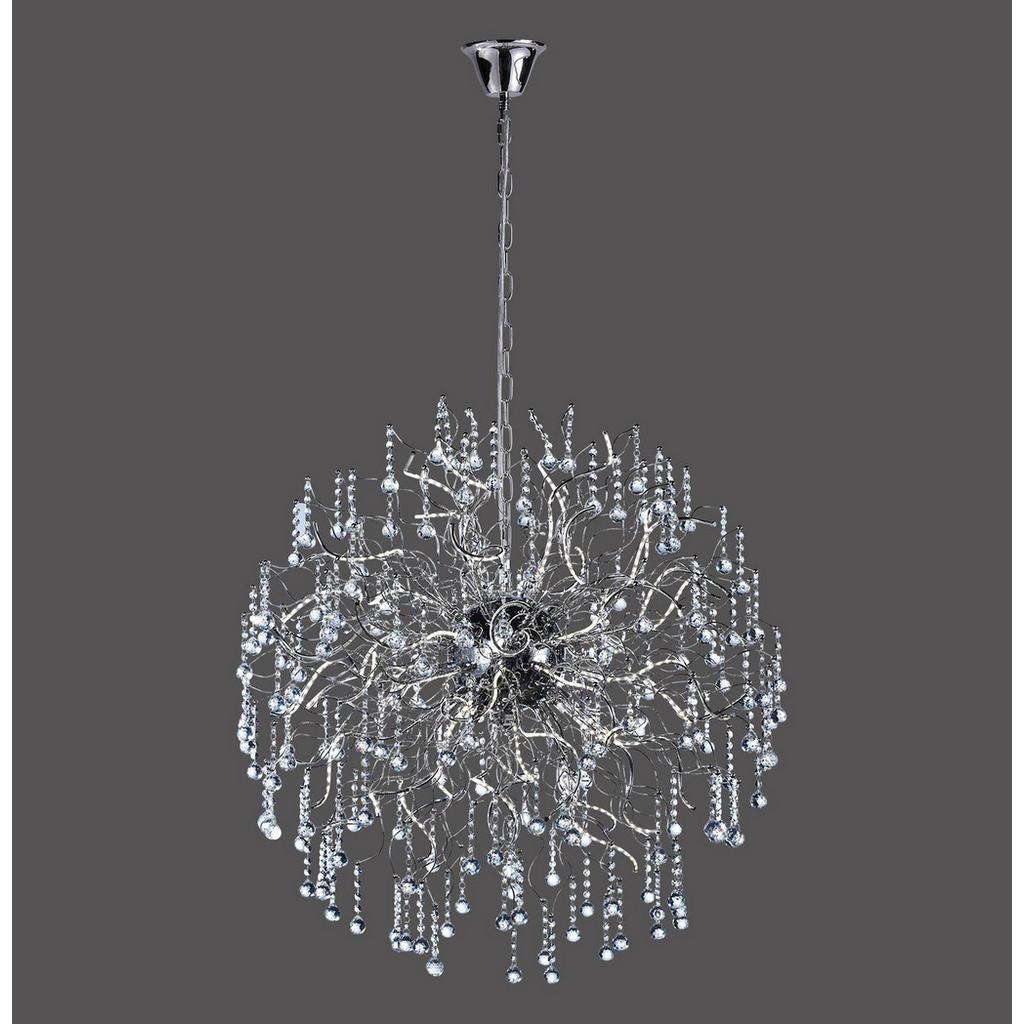 Moderne LED-Hängeleuchte mit Kristallglas