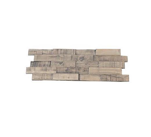 WANDVERKLEIDUNG - Teakfarben, Holz (56/20/0,8 - 1,8 cm) - Venda
