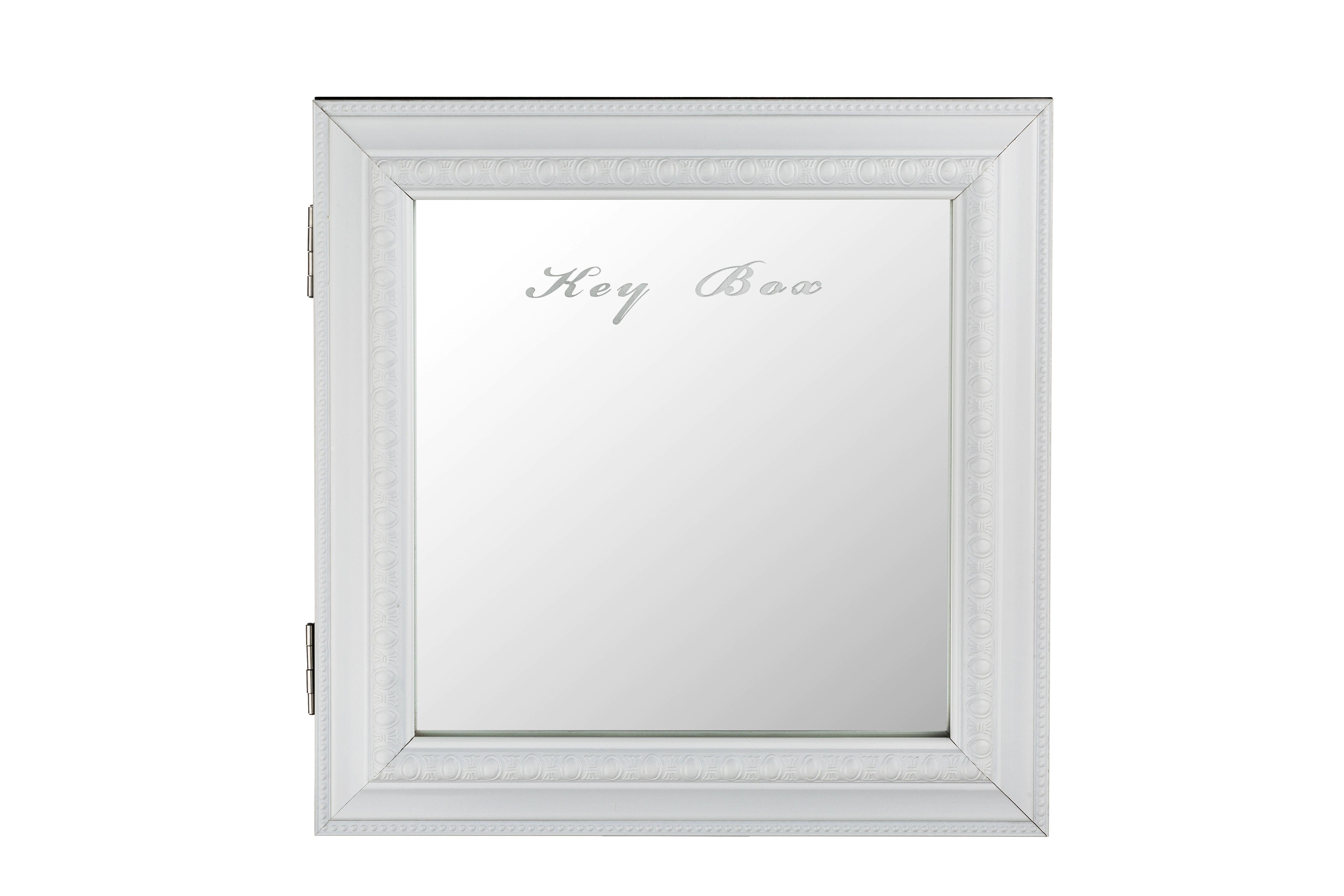 ORMARIĆ ZA KLJUČEVE - boje srebrnog hrasta, Design, drvni materijal/metal (30/6/30cm)