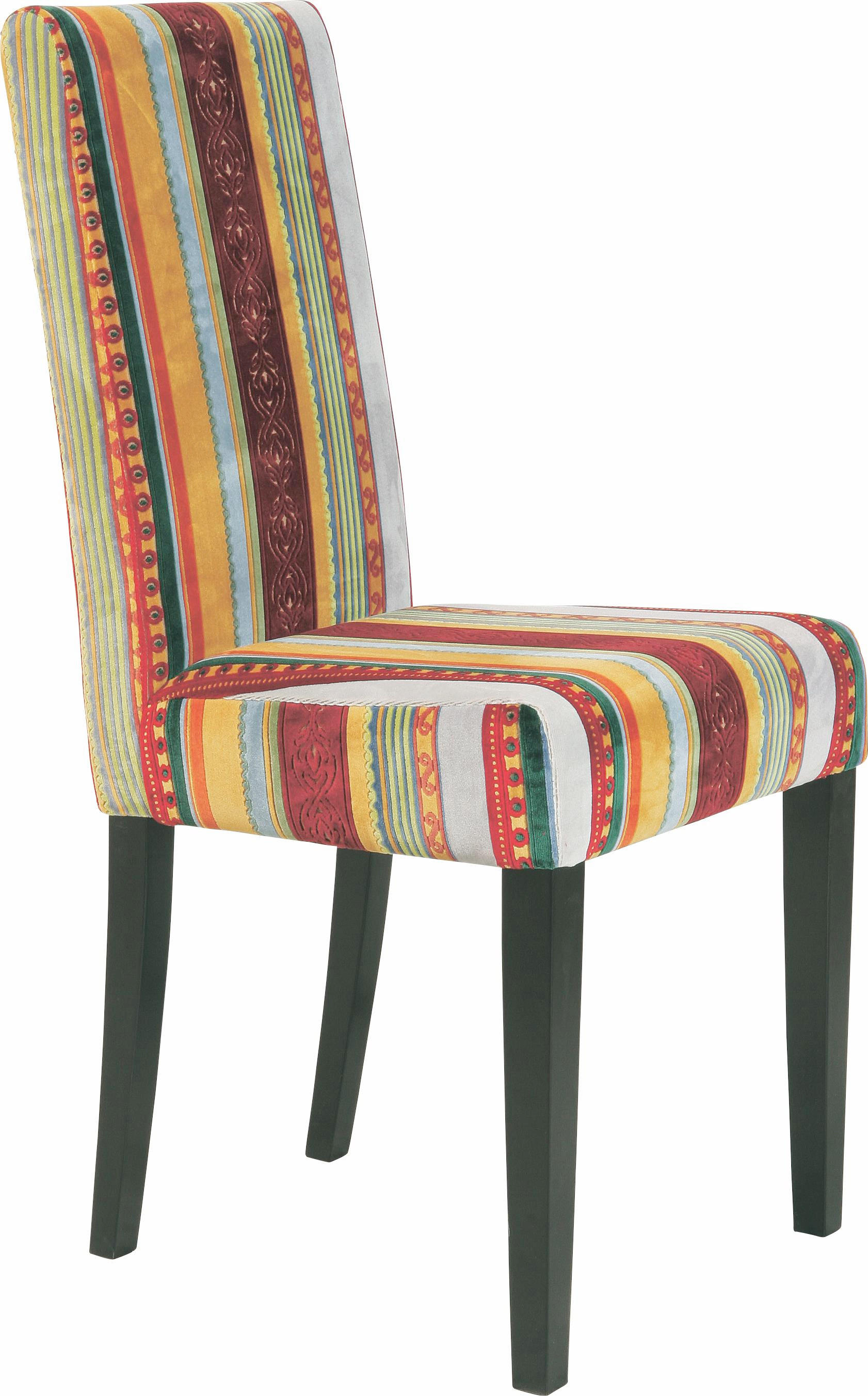 STUHL Multicolor - Multicolor, Design, Holz/Textil (45/96/50cm) - KARE-Design