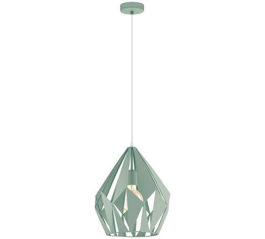 HÄNGELEUCHTE - Hellgrün, Design, Metall (31/150cm) - Marama