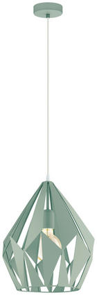 TAKLAMPA - mintgrön, Design, metall (31/110cm) - Marama