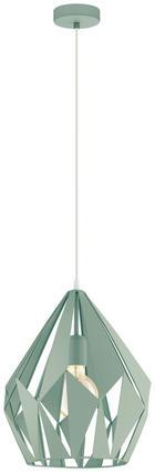VISEČA SVETILKA 79058 - svetlo zelena, Trendi, kovina (31/150cm) - Marama