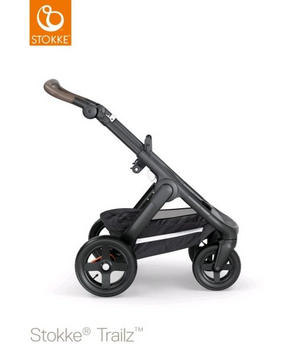 Stokke Trailz chassi svart - brun/svart, Basics, metall/textil (62/127/95,5cm) - Stokke