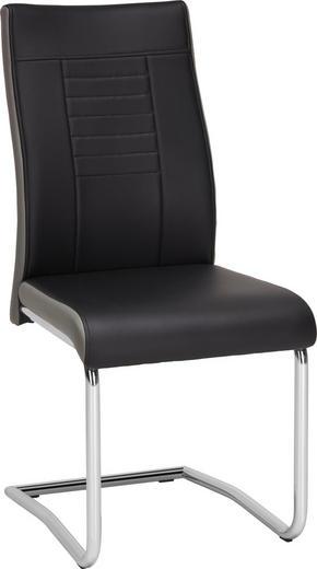 SVIKTSTOL - kromfärg/grå, Design, metall/textil (43/98/60cm) - Carryhome