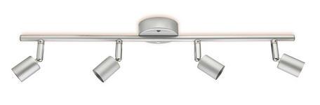 STRAHLER Bonnie - Silberfarben/Grau, KONVENTIONELL, Metall (54,5cm) - Ombra