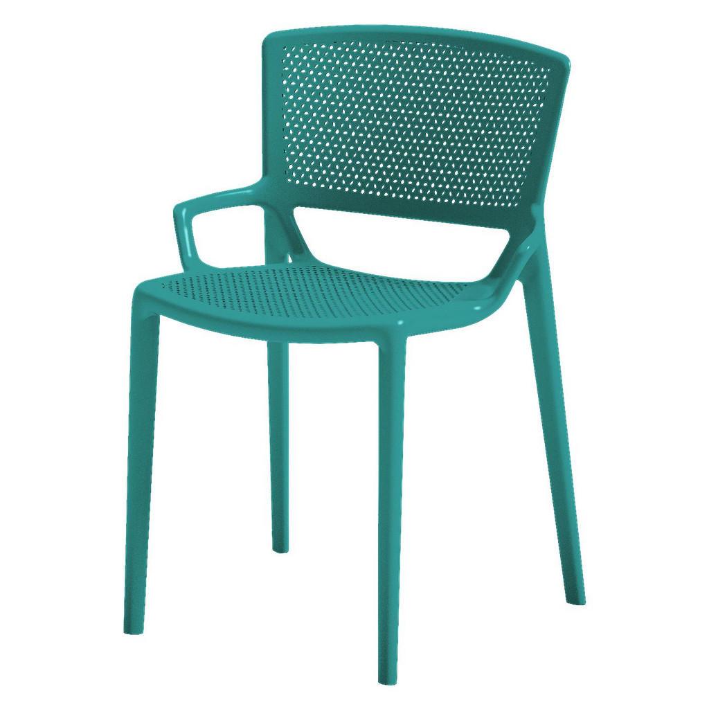 XXXL STAPELSTUHL Blau | Küche und Esszimmer > Stühle und Hocker > Esszimmerstühle | Blau | Kunststoff